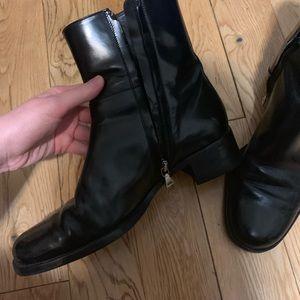 100 % Leather Authentic Prada Boots